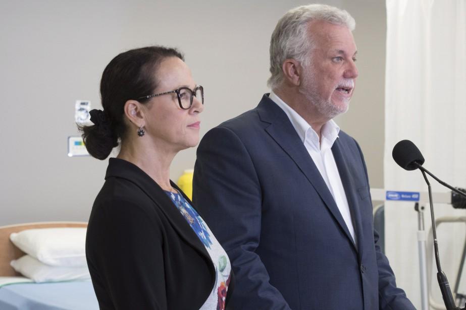 Gertrude Bourdon, ex-PDG du CHU de Québec, s'est... (Photo Jacques Boissinot, La Presse canadienne)