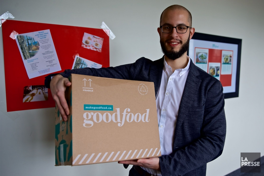 Le chef de la direction de Goodfood, Jonathan... (PHOTO ANDRÉ PICHETTE, ARCHIVES LA PRESSE)