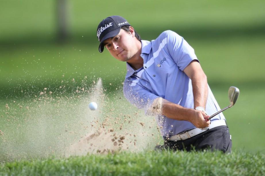 Le golfeur québécois Max Gilbert... (Photo CCGT)