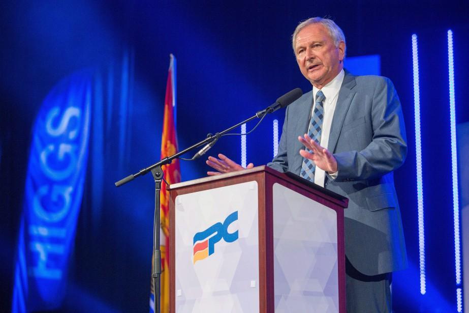 Le chef conservateur Blaine Higgs a déclaré que... (Photo James West, La Presse canadienne)