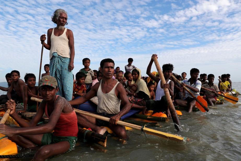 En 2017, plus de 700 000 rohingyas ont... (PHOTO Mohammad Ponir Hossain, ARCHIVES REUTERS)