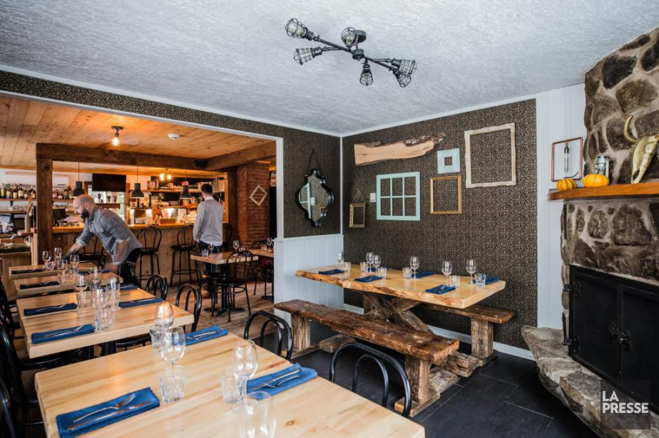 L'Épicurieux n'est pas un restaurant qui frappe l'imagination... (Photo Edouard Plante-Fréchette, La Presse)