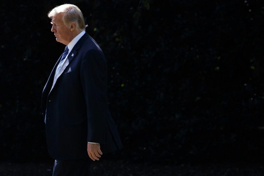 Le président Donald Trump... (Photo Evan Vucci, archives Associated Press)