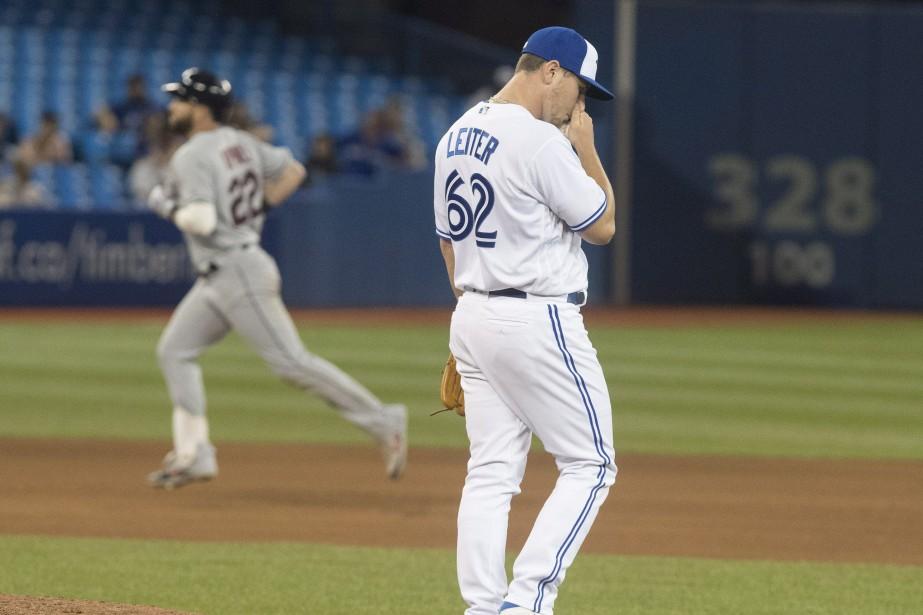 Les Blue Jays ont perdu 9-4 face aux... (Photo Fred Thornhill, La Presse Canadienne)