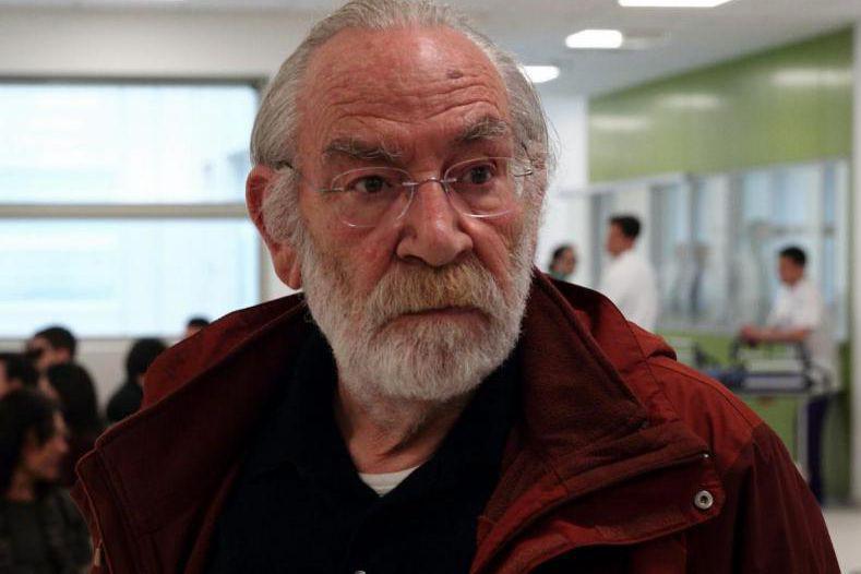 Renato Carpentieri dans La tendresse... (Image tirée du film)