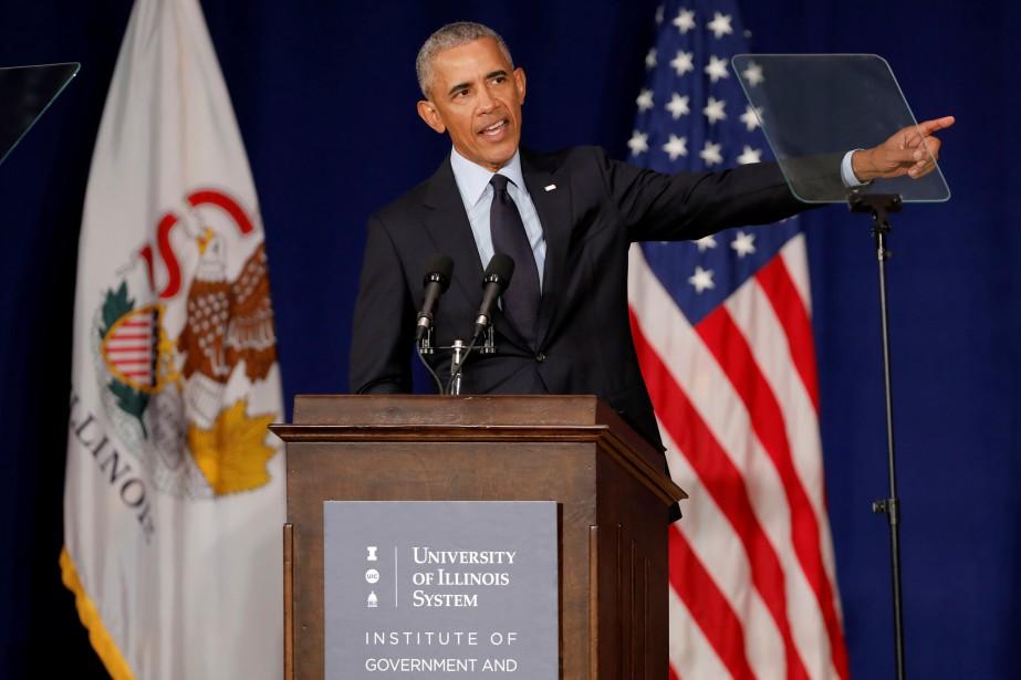 «La plus grande menace pour notre démocratie n'est... (photo John Gress, REUTERS)