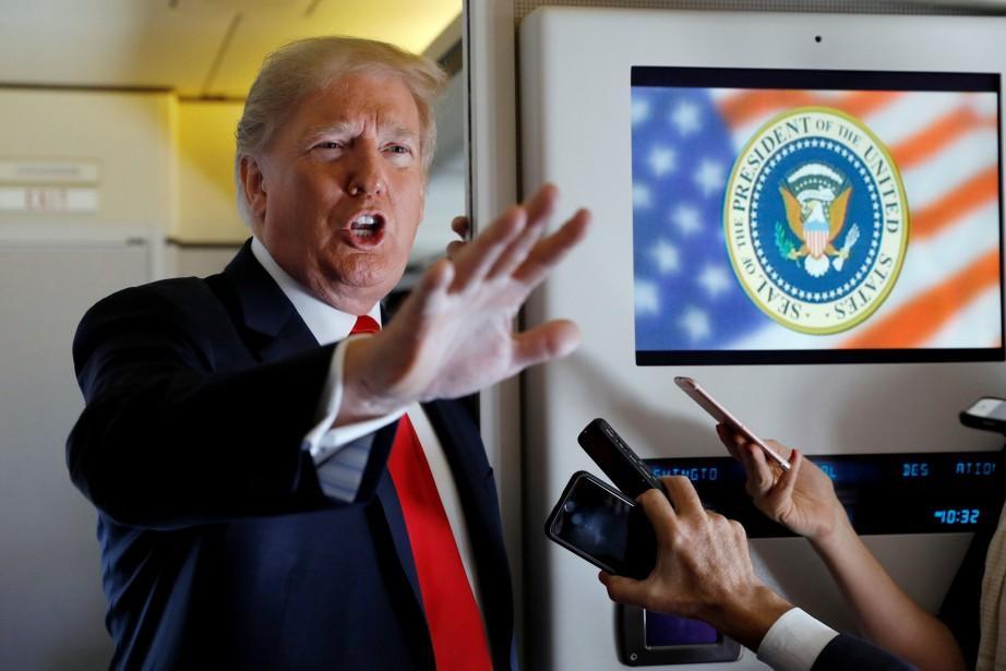 « Jeff [Sessions] devrait enquêter» pour découvrir «... (photo Kevin Lamarque, REUTERS)