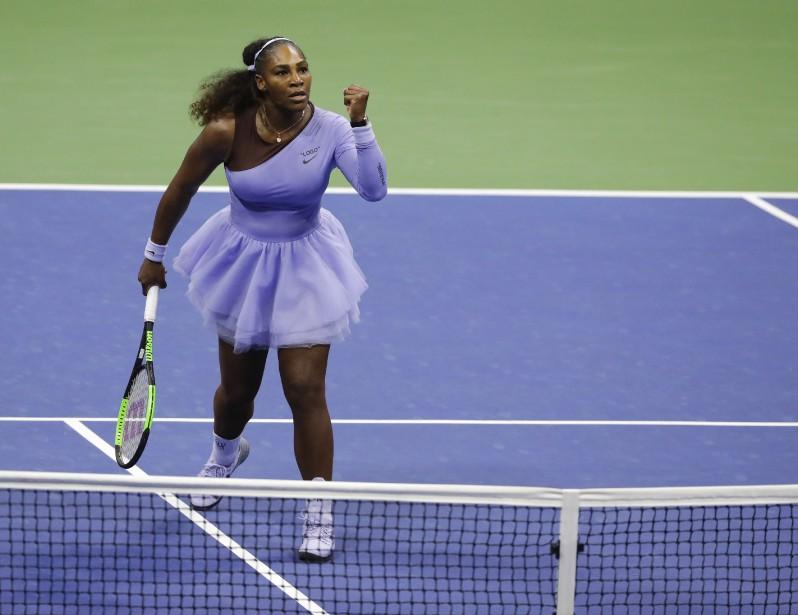 Une victoire et Serena Williams se fera une... (Photo Frank Franklin II, AP)