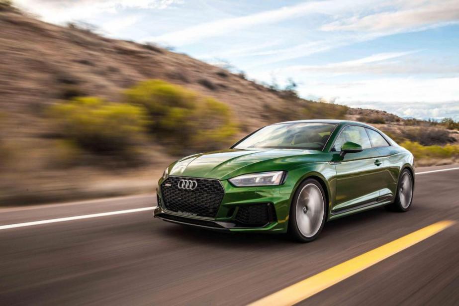 Conçue par Audi Sport, la RS 5 2018 est bel et bien une machine à l'allure impressionnante… tout en étant destinée à un usage plus centré sur la balade (échevelée) que sur la performance pure. (toutes les Photos Audi)