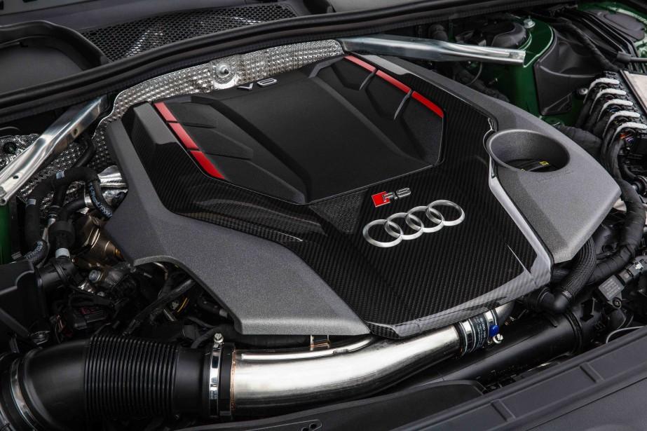 Audi RS5. Moteur. (.)