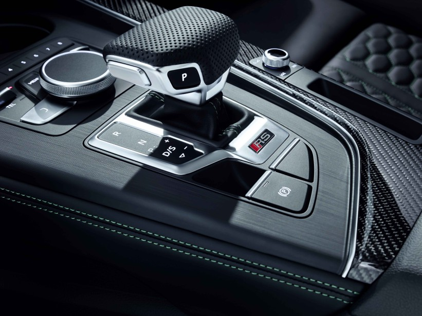 Audi RS5. Console. (.)