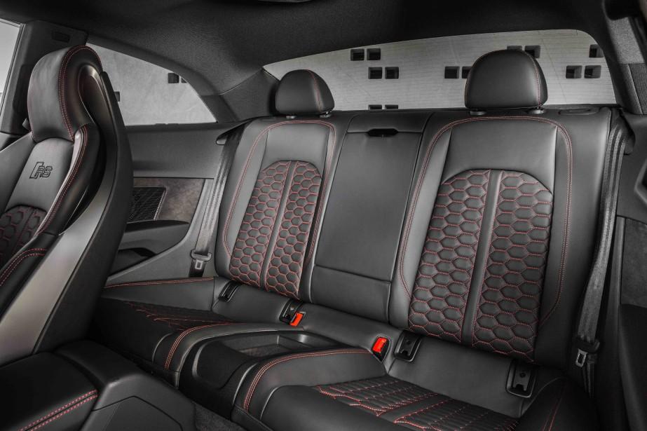 Audi RS5. Sièges arrière. (La Presse)