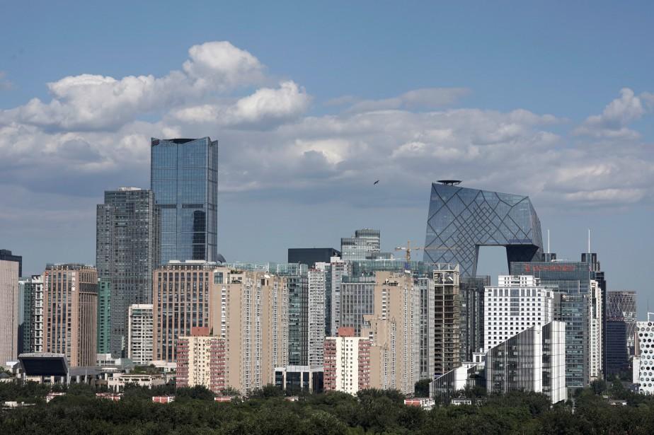 Le quartier des affaires de Pékin, en Chine... (Photo Jason Lee, Reuters)