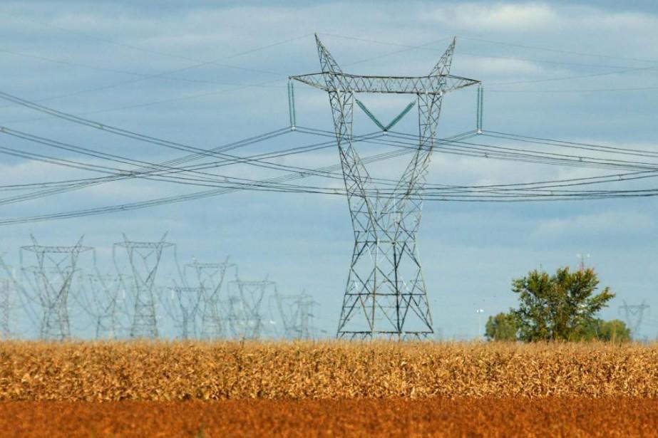 Au deuxième trimestre, Hydro a exporté 8,9térawattheures d'électricité,... (Photo Patrick Sanfaçon, Archives La Presse)