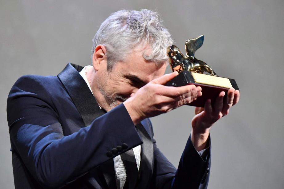 Le réalisateur mexicain Alfonso Cuaron... (Photo Alberto PIZZOLI, AFP)