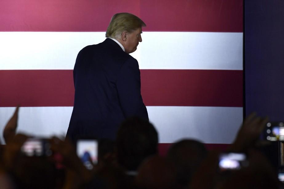 Le président américain Donald Trump... (PHOTO Susan Walsh, AP)