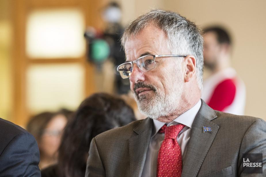 Le député libéral de Chomedey, Guy Ouellette.... (Photo Hugo-Sébastien Aubert, Archives La Presse)