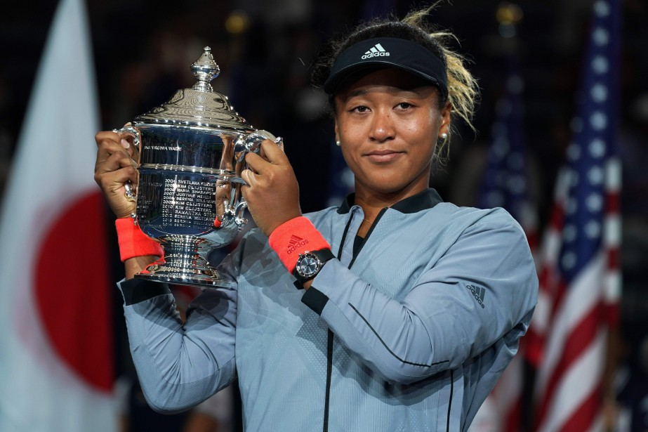 Naomi Osaka a réalisé « une performance faite de... (Photo Timothy A. Clary, AFP)