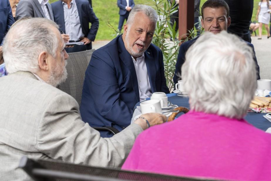 Le chef libéral s'engage à créer un crédit... (Photo Paul Chiasson, La Presse canadienne)