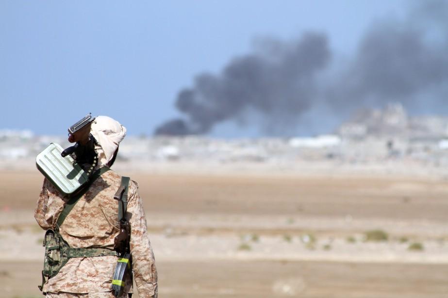 Ce bilan porte sur des violences survenues ces... (Photo Saleh Al-Obeidi, AFP)