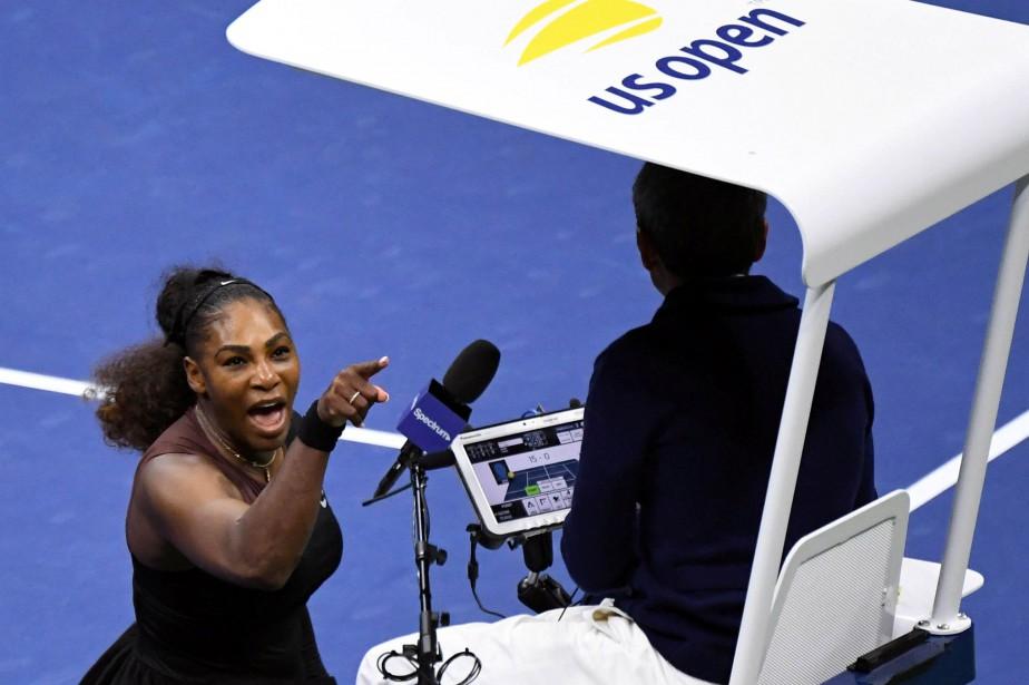 La finale dames avait été marquée par l'emportement... (PHOTO REUTERS)