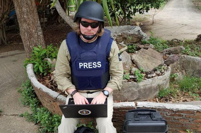 Un collaborateur de WikiLeaks, Arjen Kamphuis, mystérieusement disparu... (Photo tirée de Twitter)