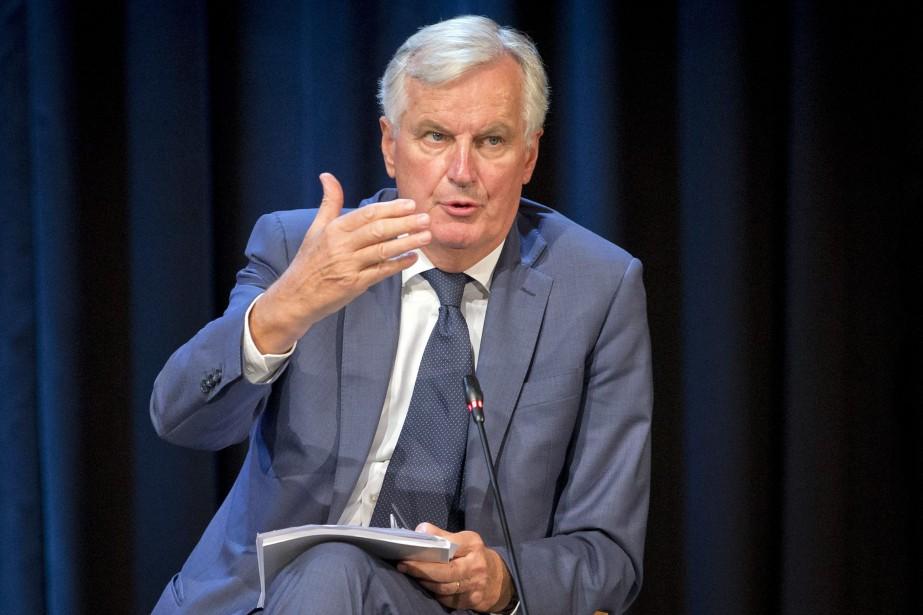 Le négociateur en chef de l'UE pour le... (Photo Darko Bandic, AP)