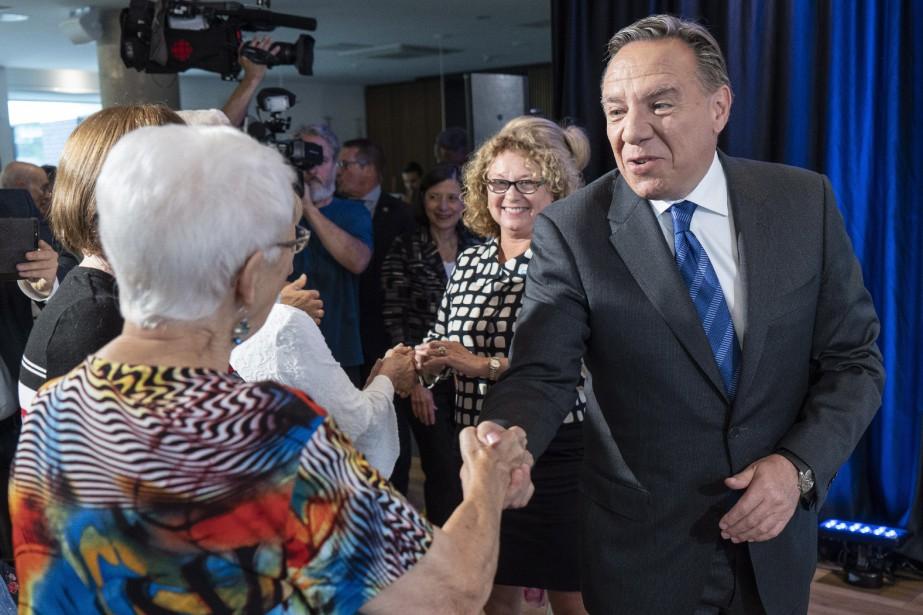 Le chefde la Coalition avenir Québec, François Legault,... (Photo Paul Chiasson, La Presse canadienne)