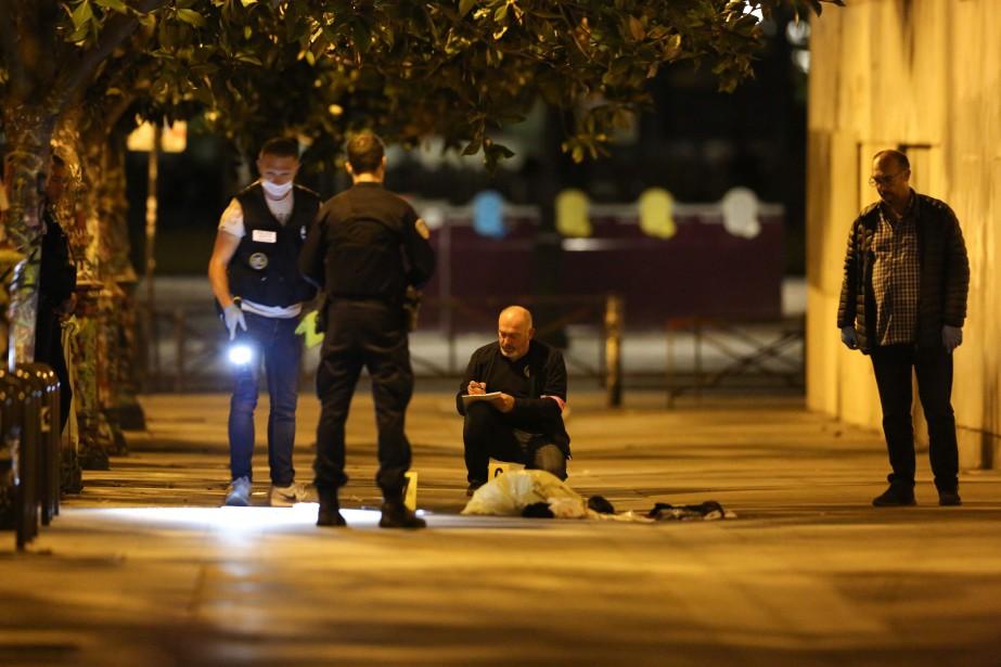 Les faits se sont déroulés peu avant 23h00,... (PHOTO AFP)