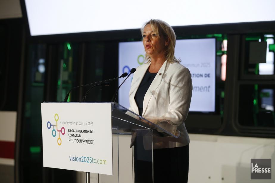 La mairesse de Longueuil, Sylvie Parent... (Photo Martin Chamberland, archives La Presse)