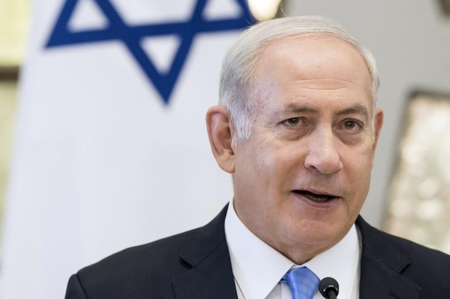 Le premier ministre israélien, Benyamin Nétanyahou... (Photo Mindaugas Kulbis, ARCHIVES AP)