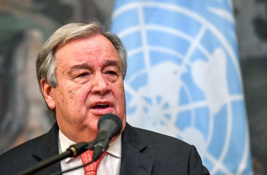 Le secrétaire général de l'Organisation des nations unies,... (Photo YURI KADOBNOV, ARCHIVES AFP)