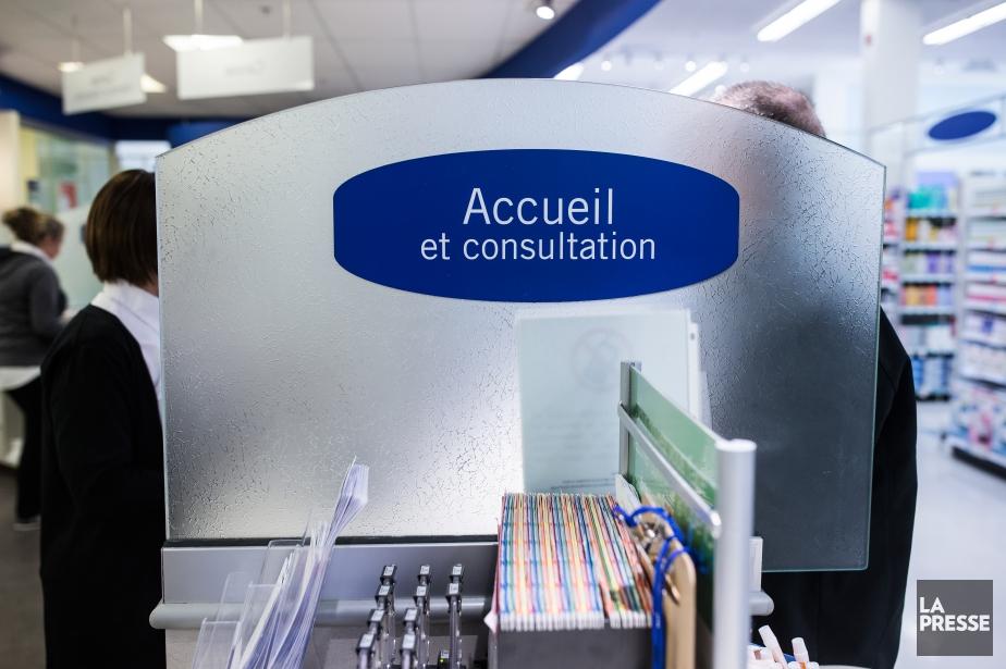 Les consultations auprès d'un pharmacien communautaire ont entraîné... (PHOTO ÉDOUARD PLANTE-FRÉCHETTE, LA PRESSE)