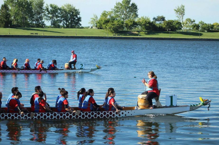 Les 13e Régates et festival de bateaux-dragons FL... (Kimberley Soaré Photographie)