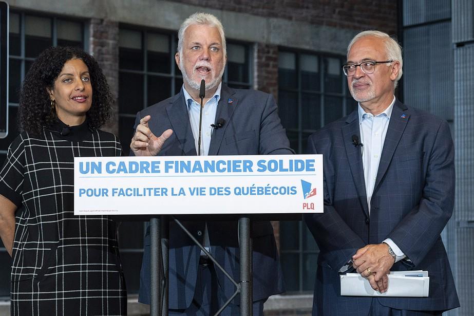 Dans son cadre financier présenté mercredi, le parti... (Paul Chiasson, PC)