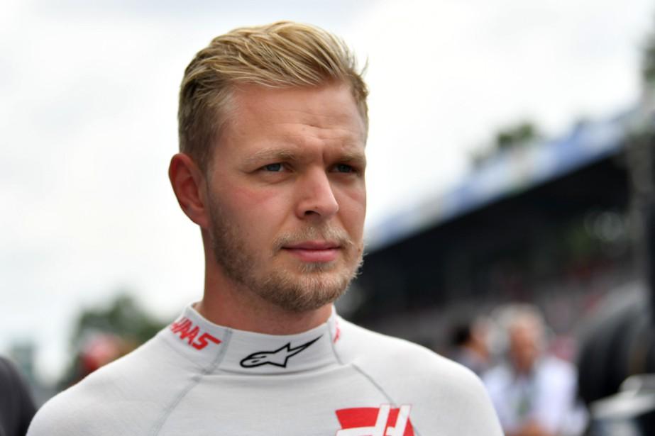L'autre pilote de l'écurie Haas, le Danois Kevin Magnussen. (AFP)