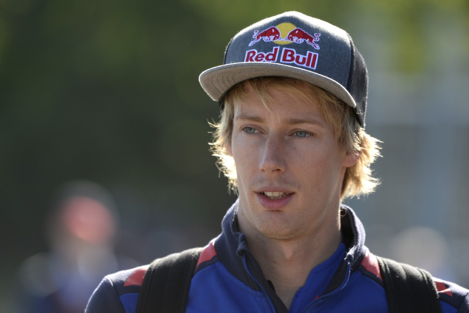 Le Néo-Zélandais Brendon Hartley, n'a pas eu une bonne année chez Toro Rosso. (La Presse photo Bernard Brault,)