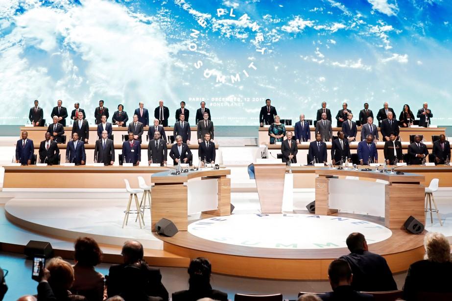Le premier Sommet avait été proposé par Emmanuel... (Photo Étienne Laurent, archives Reuters)