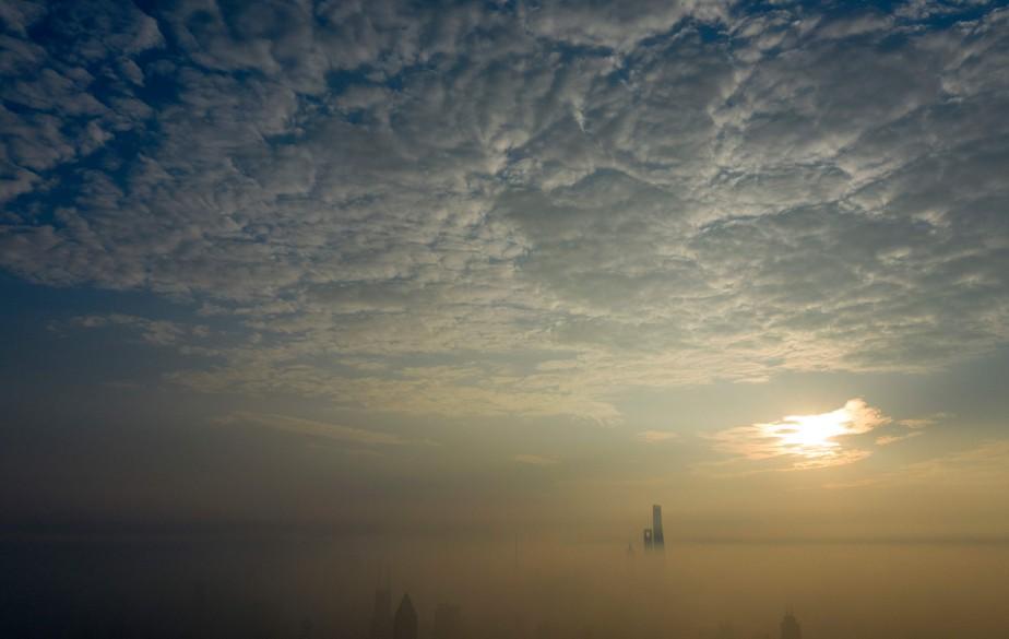 Le monde continue à rejeter dans l'atmosphère beaucoup... (Photo JOHANNES EISELE, ARCHIVES AFP)