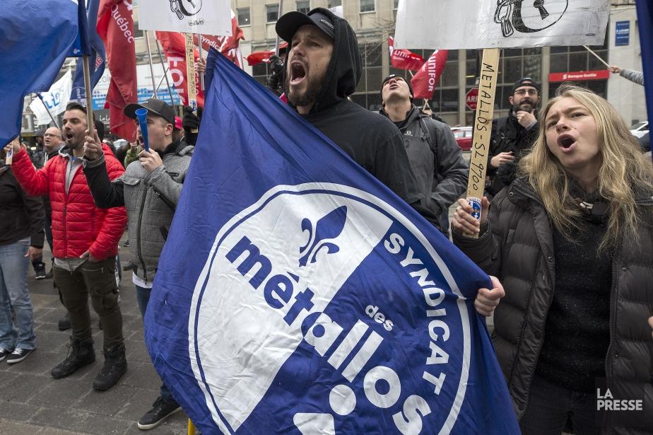 Les 1030 travailleurs d'ABI, propriété à 75 %... (Photo Patrick Sanfaçon, archives La Presse)