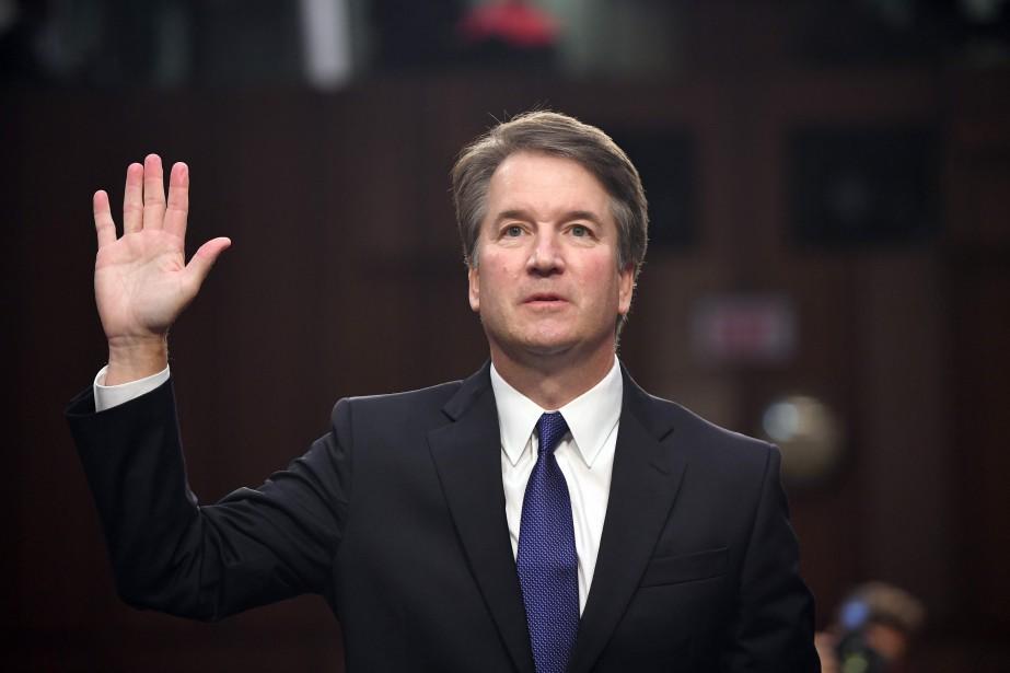 En cas de vote positif, le juge Kavanaugh... (PHOTO AFP)