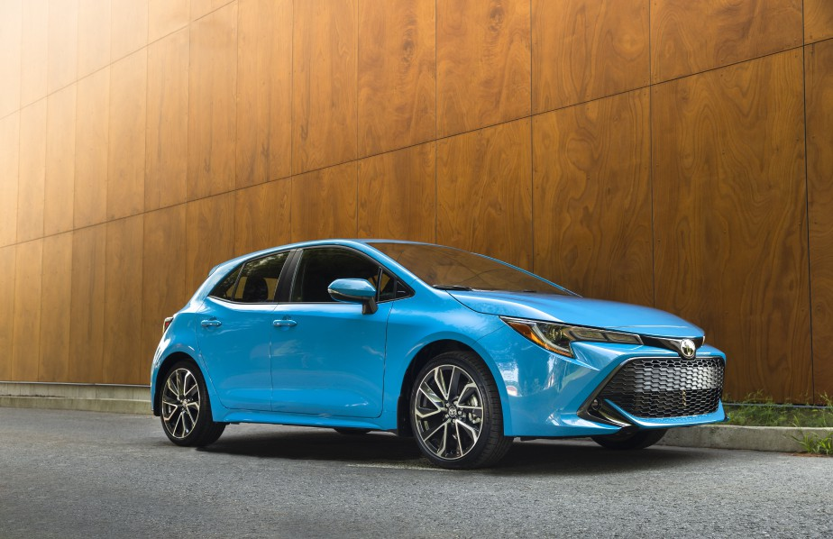 Toyota Corolla Hatchback 2019. Photo fournie par Toyota | 14 septembre 2018