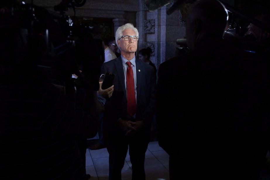 Le ministre de la Diversification du commerce international,... (Photo Justin Tang, Archives La Presse Canadienne)