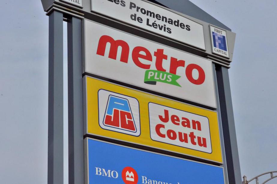 Québec-Metro Jean Coutu-27/10/2017-le 27 septembre 2017-Photo le Soleil,...