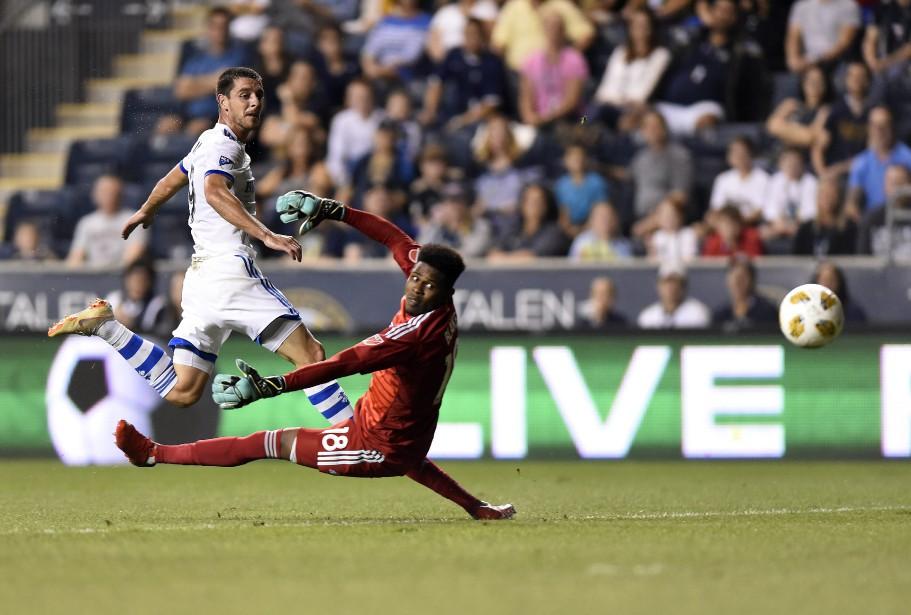 Alejandro Silva a marqu deux buts dans le... (Photo Michael Perez, Associated Press)