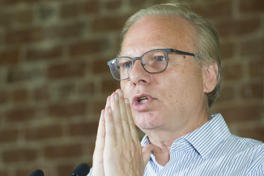 M.Lisée affirme qu'un éventuel gouvernement péquiste saura bâtir... (Photo Graham Hugues, La Presse canadienne)