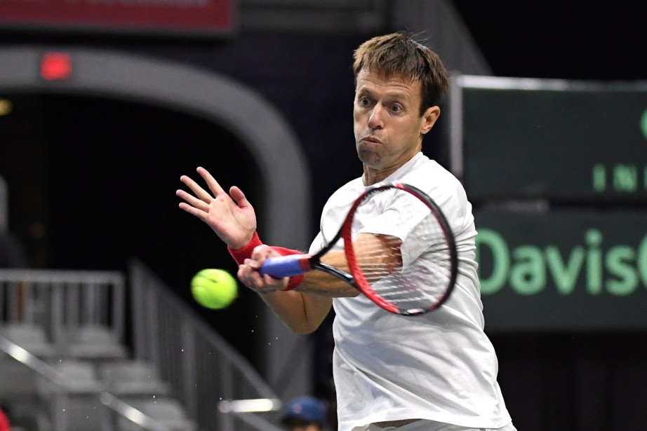 Daniel Nestor a représenté le Canada à la Coupe... (photo Jon Blacker, PC)