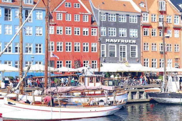 Le canal Nyhavn, au centre de Copenhague... (Photo Frédérique Poirier, collaboration spéciale)