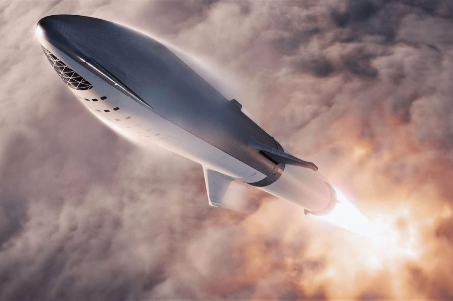 Le voyage aura lieu à bord de la... (PHOTO AFP)