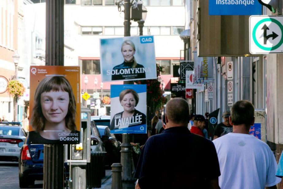 Dans la circonscription de Taschereau, en plein coeur... (Photo François Roy, La Presse)